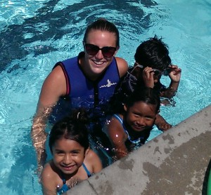 Swim lessons for kids in Inglewood California
