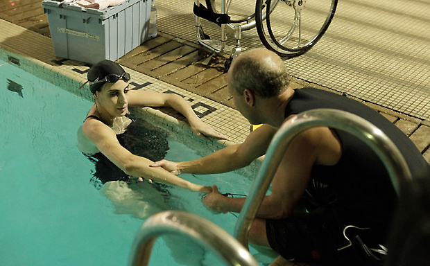 disability swimming