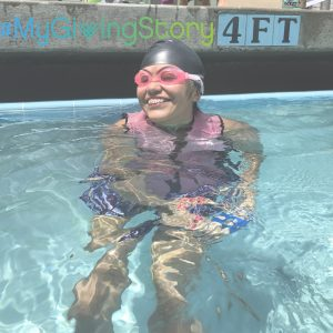 giving tuesday, swim lessons, adaptive athletes, special needs.