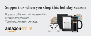 amazon smile, holiday shopping, charity shopping,