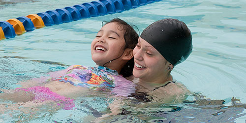 Swim Lessons for Kids and Babies