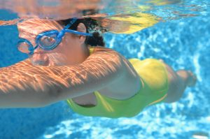The Effect of Swimming on Stereotypical Autistic Movement