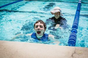 aquatic therapy, one with the water, adaptive athlete, special needs