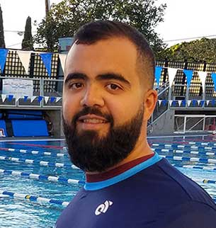 Mohammad Khadembashi, US National Swim Team Coach