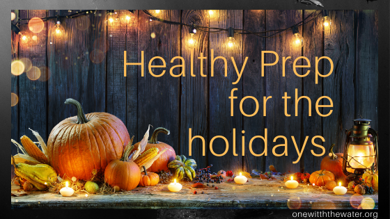 Healthy Holiday Eating with a Plan