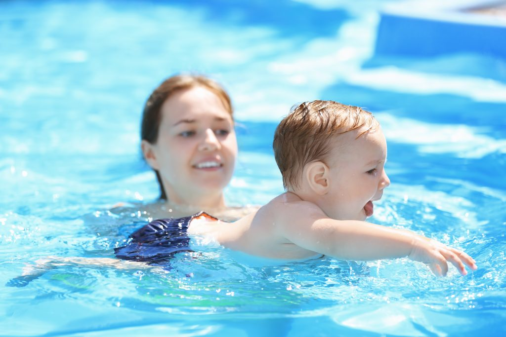 Swim Drills for Parents and Caregivers